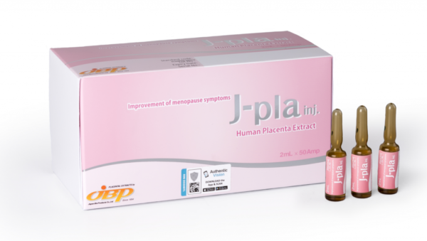 J-PLA Human Placenta Extract - 50 Vials X 2ML